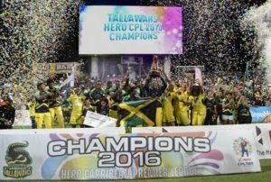 Jamaica Tallawahs won 2016 Caribbean Premier League