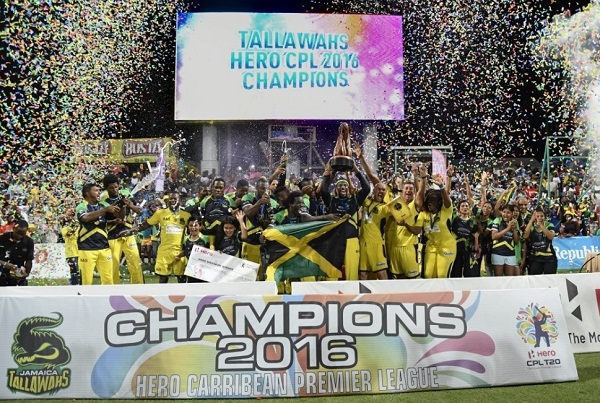 Jamaica Tallawahs won 2016 Caribbean Premier League