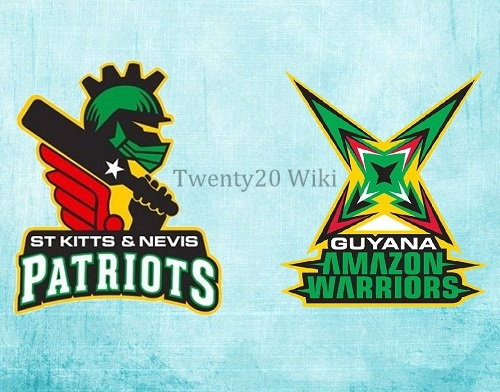 St Kitts Nevis Patriots vs Guyana Amazon Warriors Match-2 Preview.