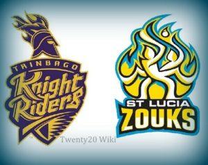 Trinbago Knight Riders vs St. Lucia Zouks Match-1 Preview, Prediction.