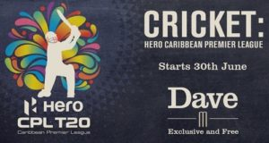 UKTV's Dave to broadcast Caribbean Premier League