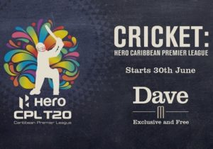 UKTV's Dave to broadcast Caribbean Premier League.