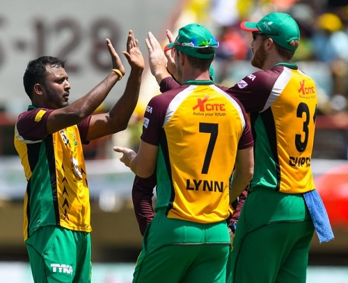Guyana Amazon Warriors beat Jamaica to reach 2016 cpl final