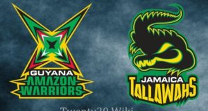 Guyana Amazon Warriors vs Jamaica Tallawahs Live streaming 2017 CPL
