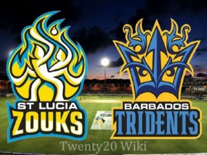 St Lucia Zouks vs Barbados Tridents Live Streaming, Score 2016 CPL