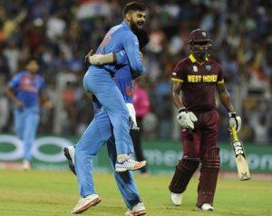 Indian T20 team declared for West Indies twenty20s in Florida
