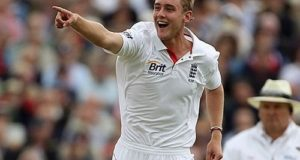 Stuart Broad joins Hobart Hurricanes for Big Bash 2016-17