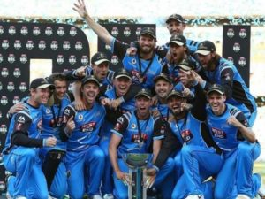 Adelaide Strikers won 2017-18 big bash league