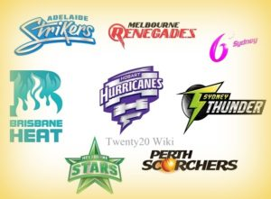 Big Bash League Squads