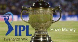 Indian Premier League 2017 Prize Money