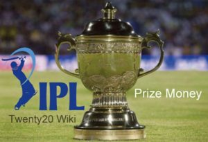 Indian Premier League Prize Money.