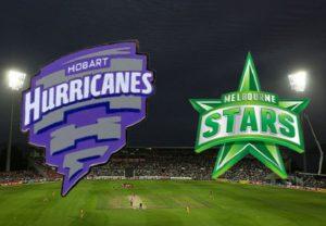 Hobart Hurricanes vs Melbourne Stars Live Streaming