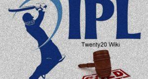 IPL 2020 Auction Date, Venue, Teams Budget, Rules