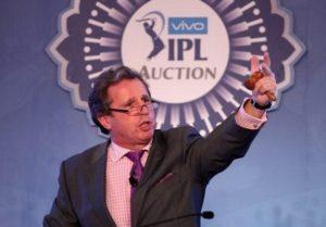 Richard Madley IPL auctioneer