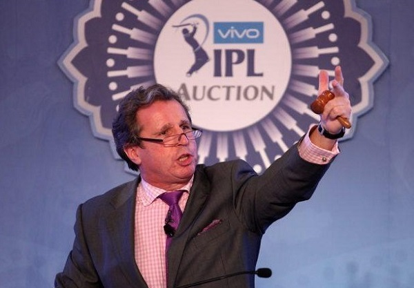 Richard Madley IPL auctioneer