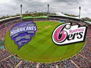 Sydney Sixers vs Hobart Hurricanes Live Streaming