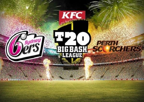 Sydney Sixers vs Perth Scorchers Live Streaming.