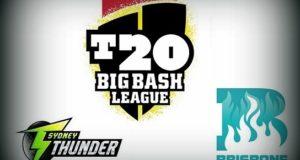 Sydney Thunder vs Brisbane Heat Live Streaming