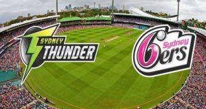 Sydney Sixers vs Sydney Thunder Live Streaming match-25 BBL|06