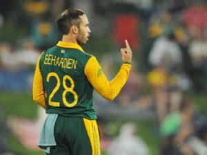 Behardien to captain New look Africa in Sri Lanka T20s 2017