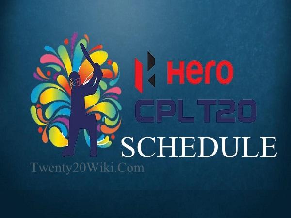 CPLT20 Schedule and Fixtures