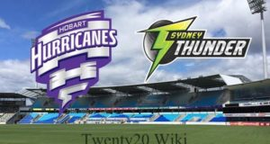 Hobart Hurricanes vs Sydney Thunder Live Streaming