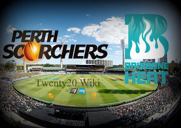 Perth Scorchers vs Brisbane Heat Live Streaming.