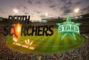 Perth Scorchers vs Melbourne Stars live stream.