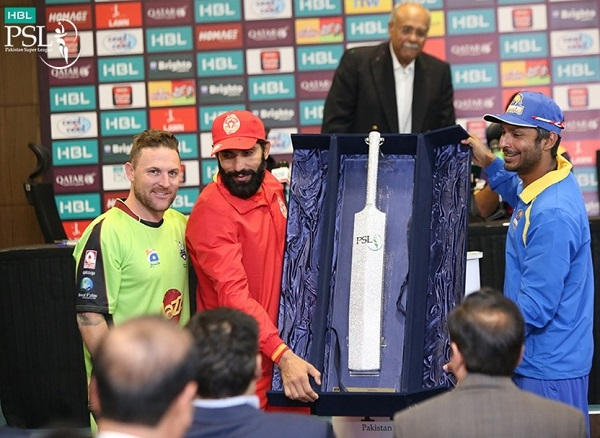 Best batsman cricket trophy for PSL 2017.