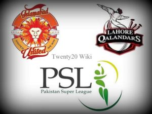 Islamabad United vs Lahore Qalandars Live Streaming