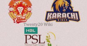 Islamabad United vs Karachi Kings 2nd Playoff Live Streaming