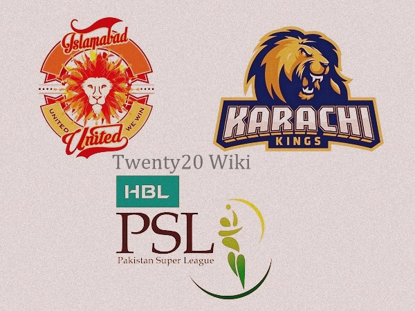 Karachi Kings vs Islamabad United Live Streaming