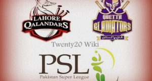 Lahore Qalandars vs Quetta Gladiators Live Streaming