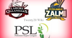 Lahore Qalandars vs Peshawar Zalmi Live Streaming