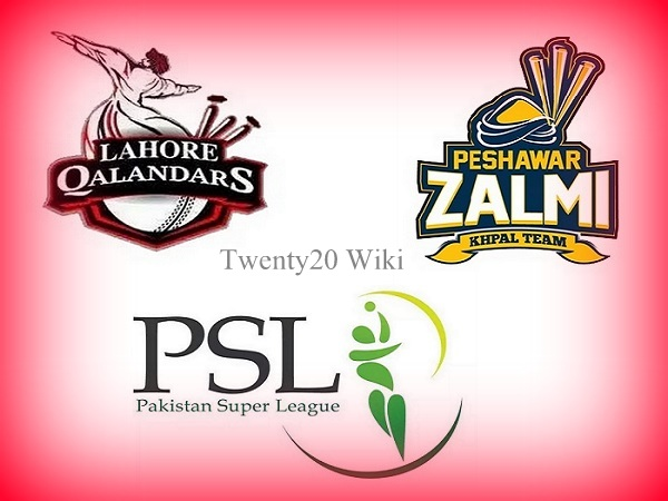 Peshawar Zalmi vs Lahore Qalandars live streaming