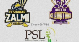 Peshawar Zalmi vs Quetta Gladiators Final Live Streaming