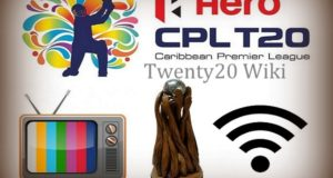 CPL 2017 Live Streaming, Broadcast