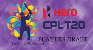CPL Players Draft 2017 Players List