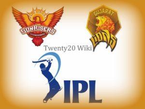 Gujarat Lions vs Sunrisers Hyderabad Preview.