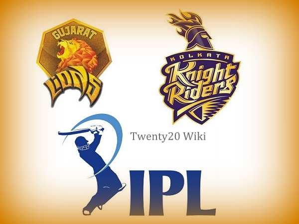 Kolkata Knight Riders vs Gujarat Lions Preview