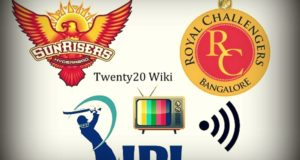 SRH vs RCB Live Streaming, Telecast, Score Match-1 IPL 2017
