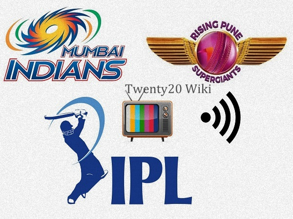 Rising Pune Supergiants vs Mumbai Indians Live Streaming