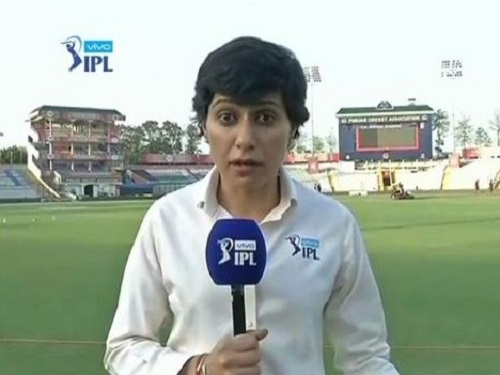 Anjum Chopra IPL commentator.
