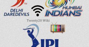 Mumbai Indians vs Delhi Daredevils Live Streaming match-25