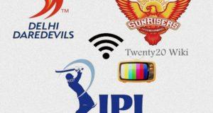 IPL 2017: SRH vs DD match-21 Live Streaming, Score