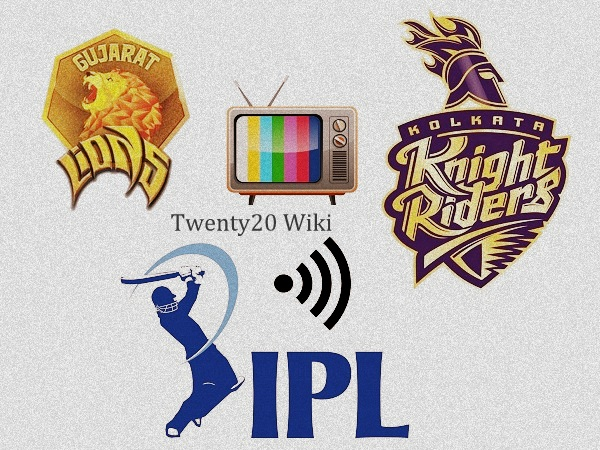 Gujarat Lions vs Kolkata Knight Riders Live Streaming