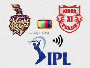 KKR vs KXIP IPL match live streaming