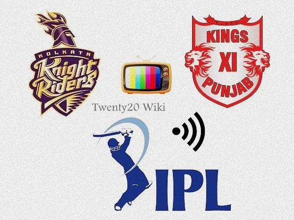 KXIP vs KKR 49th match Live Streaming 2017 IPL