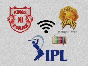 KXIP vs GL live streaming, score