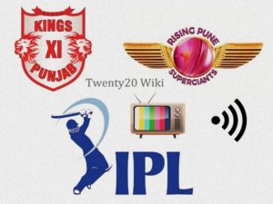 KXIP vs RPS IPL live Streaming